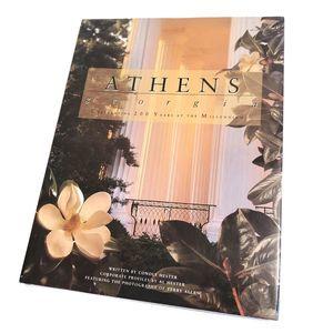 Athens Georgia Coffee Table Book Vintage 1999